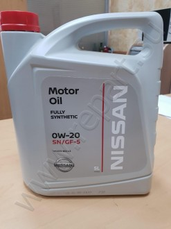 Масло моторное Nissan 0W20